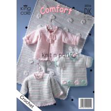 Kingcole Baby Crochet 3016