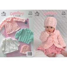 Kingcole Baby Aran 3136