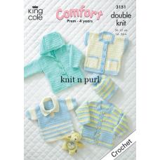 Kingcole Baby Crochet 3151