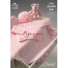 Kingcole Baby Crochet 3258