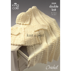 Kingcole Baby Crochet 3259