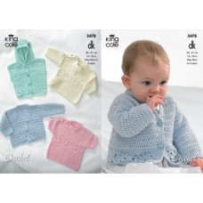 Kingcole Baby Crochet 3478
