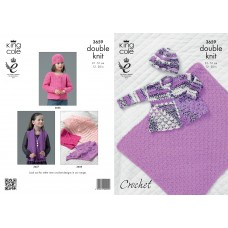 Kingcole Baby Crochet 3659