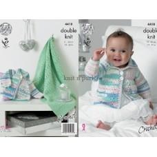 Kingcole Baby Crochet 4418