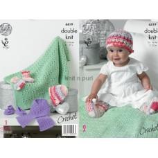 Kingcole Baby Crochet 4419