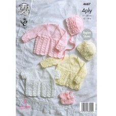 Kingcole Baby 4ply 4687