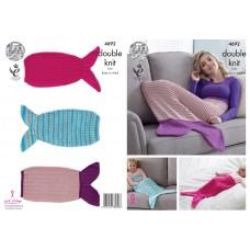 Kingcole 4692 Mermaid Tail Blanket