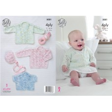 King Cole Baby 5001 4ply