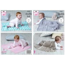 King Cole Baby Blanket 5101