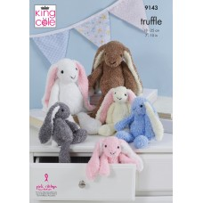 Kingcole 9143 Truffle Bunnies