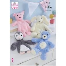 Kingcole 9145 Truffle Snuggle Toys