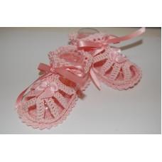 Girls Sandals Pink - Size 0-3months