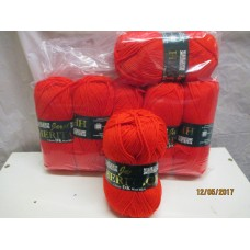 CLEARANCE  - 55% Wool Rich Heritage DK - 7 x 100grams shade 151 Red