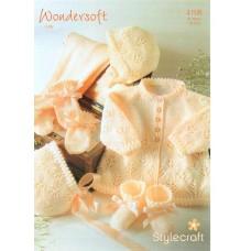 Stylecraft Babies 4PLY 4108