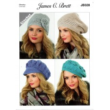 James Brett Adult Chunky CROCHET JB328