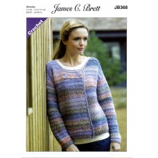 James Brett Adult Chunky  CROCHET JB368