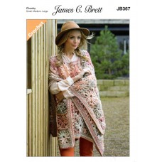 James Brett Adult Chunky  Crochet JB367