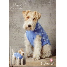 Stylecraft Xmas Dog Coat 9311