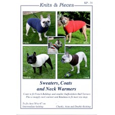 Dog Coats for French Bulldogs & smaller Bull Terriers - KP31