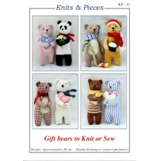 Gift Bears to Knit & Sew - kp32