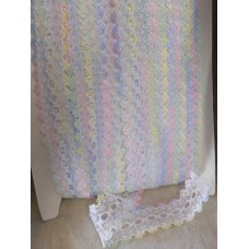 Knit in Lace - White/multi
