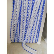 Knit in Lace - White/Royal